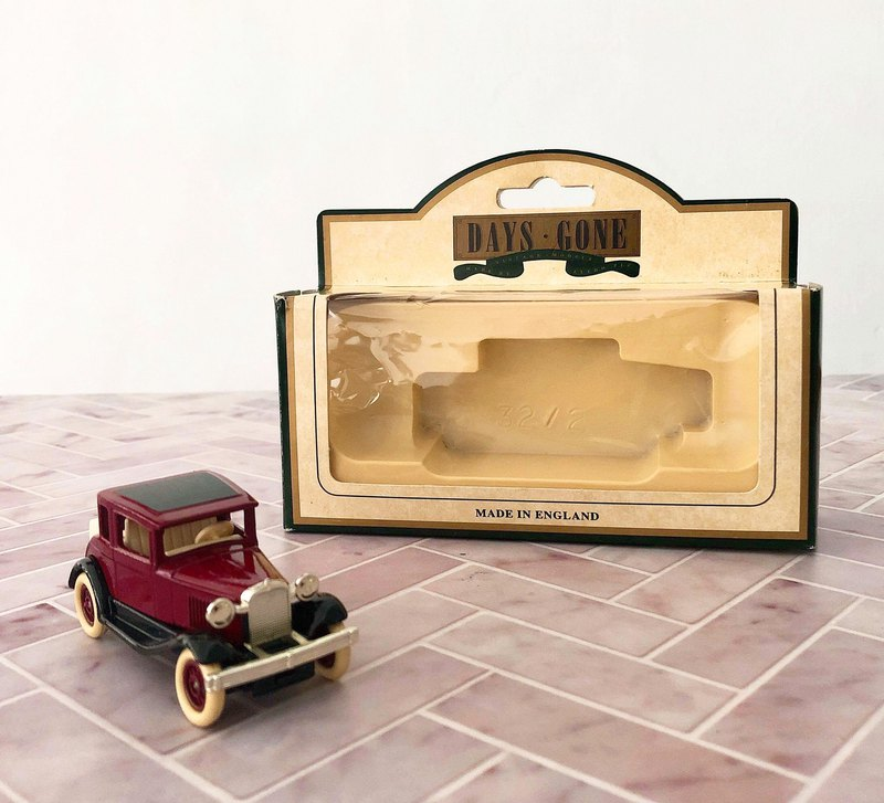 British antique classic metal car series A models with original box