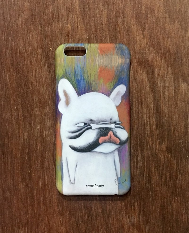 emmaAparty illustration phone case: eating and fighting