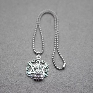 Guanyin Liumang Star Necklace