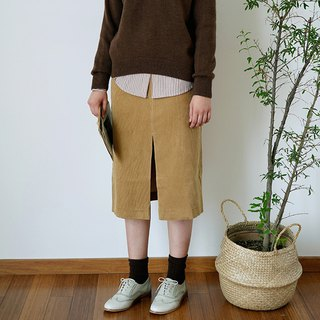 Thick anti-wrinkle corduroy skirt