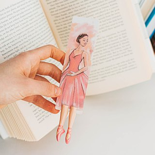 New Ballerina bookmark by authentic MyBookmark