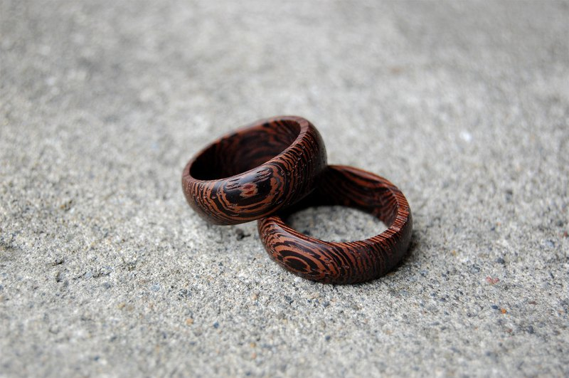 [Chicken wing wood] wood ring