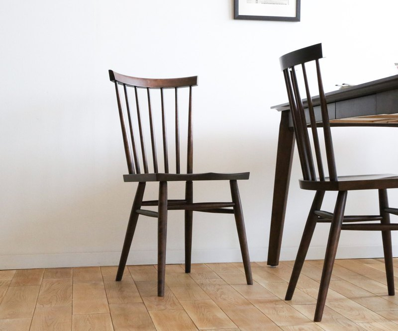 Asahikawa Furniture Create Furniture W & B Windsor Chair