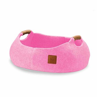 Lifeapp Cat Basket BASKET BOWL_Cherry Powder