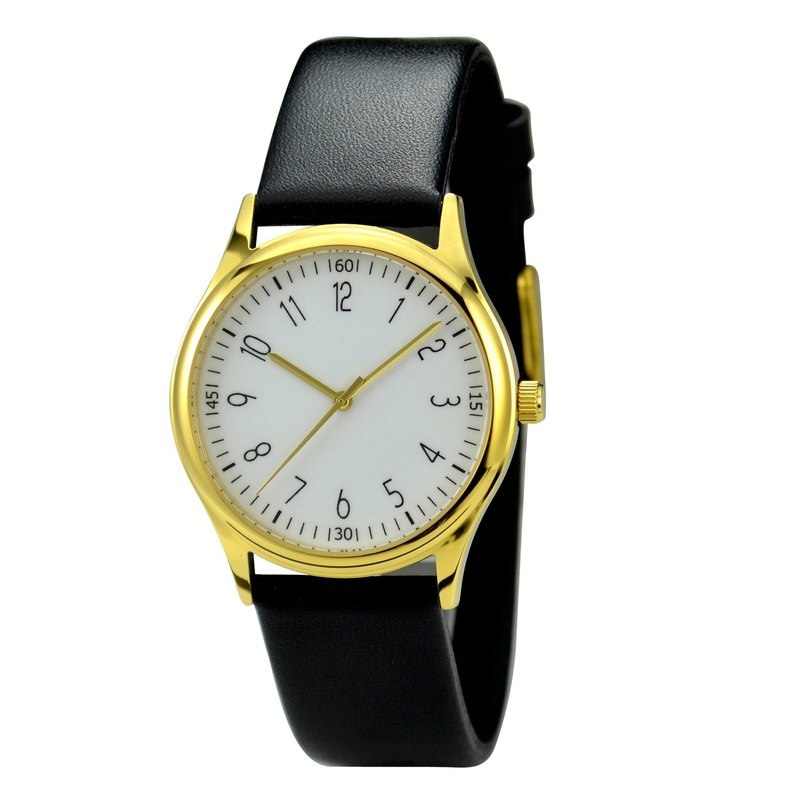 Minimalist number watches Gold Case I Men Watch I Women Watch I Free Shipping