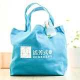 甜甜圈帆布包(藍色)