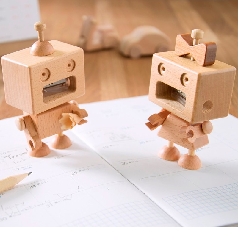 Couple Group - Robot Pencil Sharpener