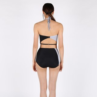 Tear Diamond set - BlackGray / swimwear / L