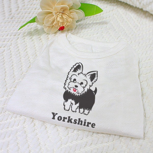 [Hairy child name customized models] Yorkshire Terrier Yorkshire Terrier reflective vests (hairy child paragraph)