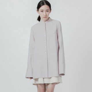 傘狀剪接襯衫 A-Line Shirt With Cutting Detail