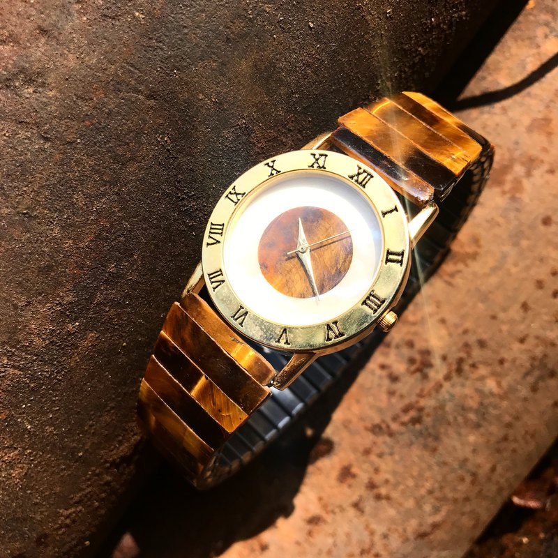 【Lost And Find】Natural tiger eye watch
