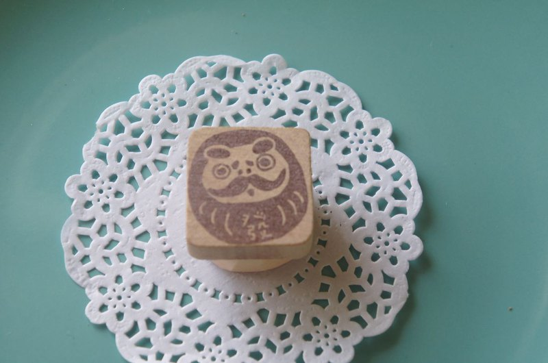 Apple Dandan hand-carved seal Xiaocai God Tumbler