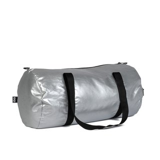 LOQI Double Side Travel Bag - Metallic Silver WEMMSI