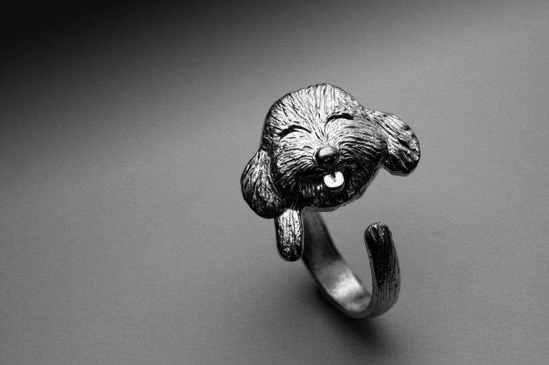 Pet VIP Silver Ring