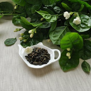 Fiber fresh jasmine (jasmine green tea Jin Xuan) three packs - jewelry box / box / circular tank [tea] HERDOR