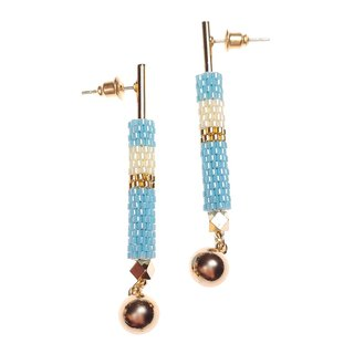 Baby Blue - Lavish Drop Earrings