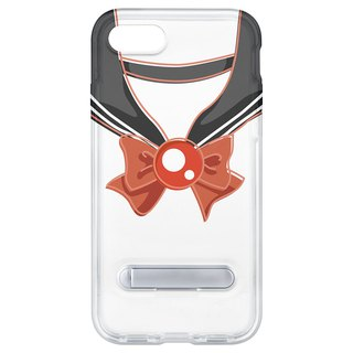Sailor suit gray hidden magnet bracket iPhone 8 plus 7 Plus 6 plus phone case