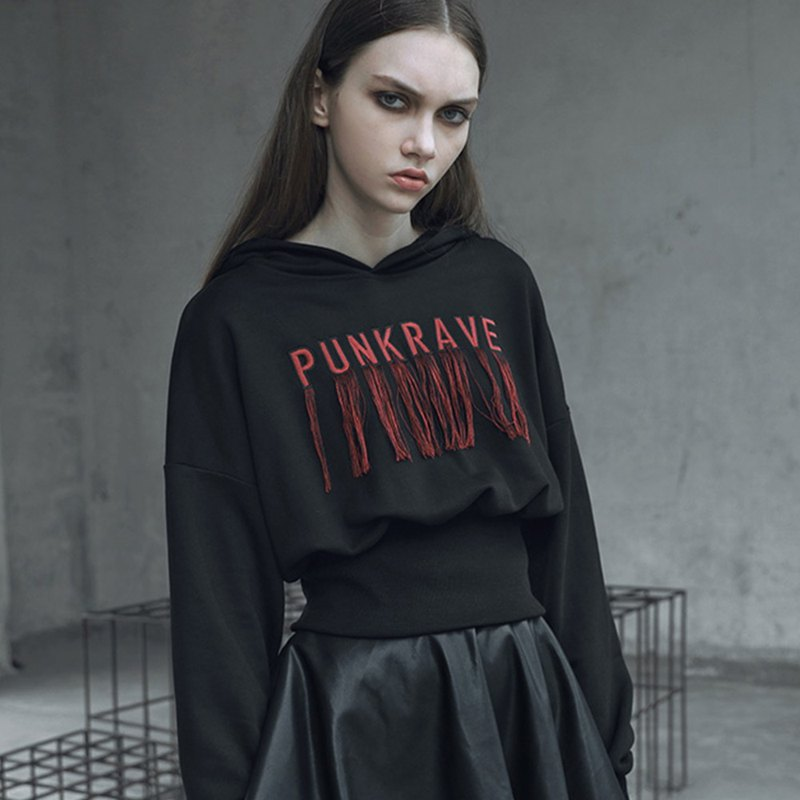 Gothic Totem Witch Sweater / Out of Print
