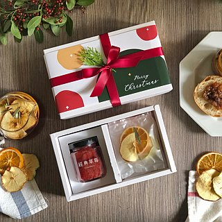 Christmas exchange gift Christmas packaging │ carefully selected jam gift box [two into]