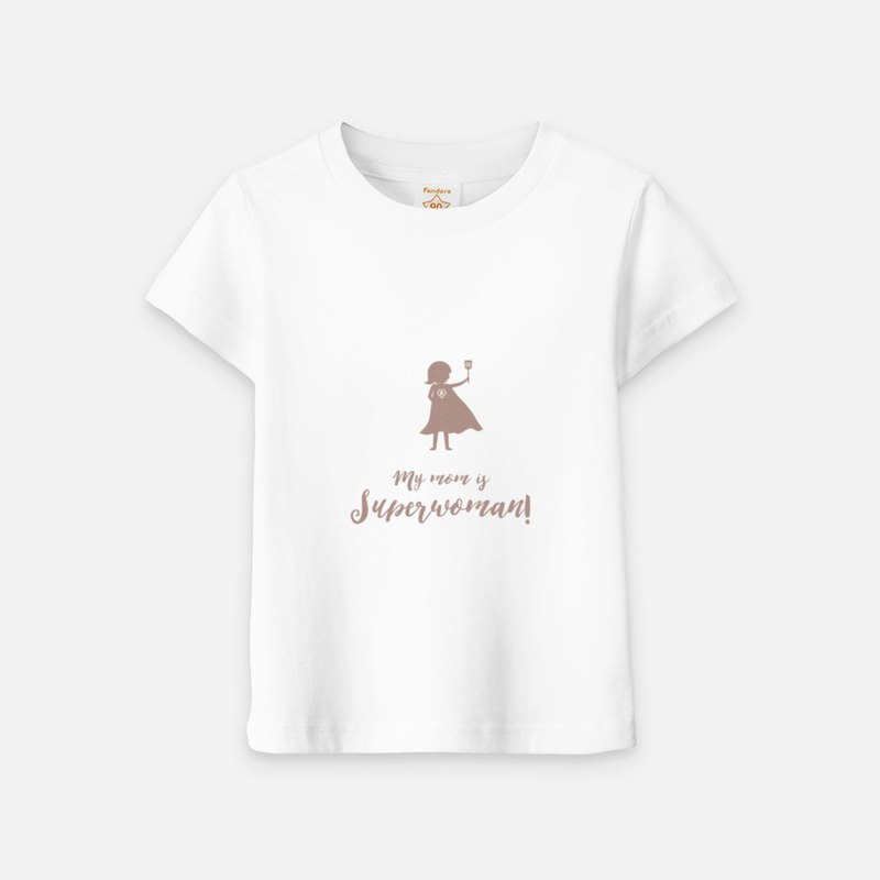 My mom is superwoman (light version) - Kids Short Sleeve T-shirt
