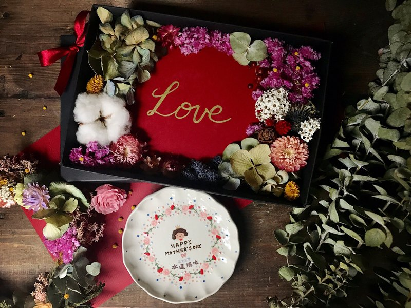 Mother's Day Flowers & Gifts Limited ceramic disc set (18 cm plus the name of the faceplate paragraph)