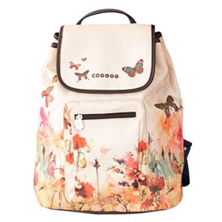 COPLAY Watercolor Flower | Shoulder Backpack | Backpack | Side Backpack |