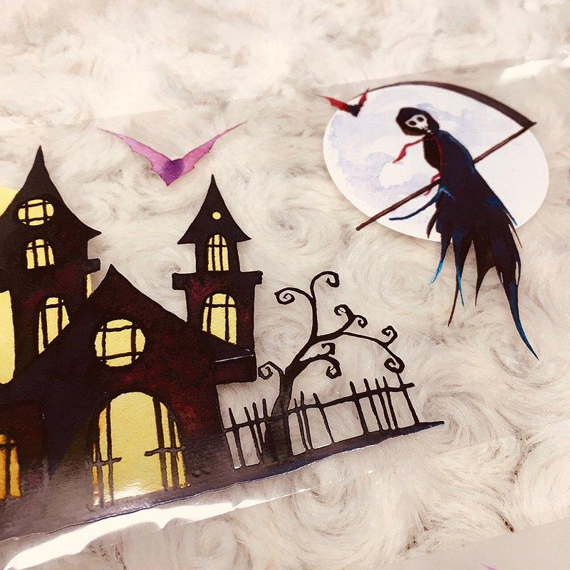 奇幻萬聖節3 Fantasy Halloween 3 紙膠帶 Masking Tape