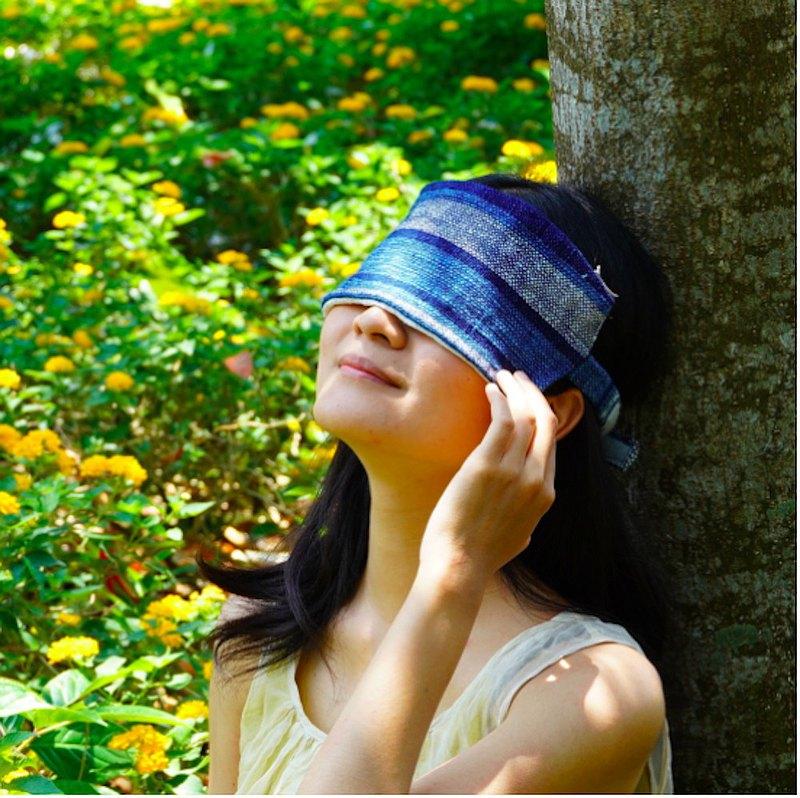 碧目養顏 // 手織絲棉双面 / 熱敷放鬆眼罩