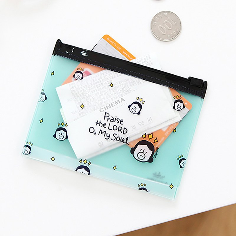 Hello DunDun 啰登登系列XS small card storage bag 01. Praise
