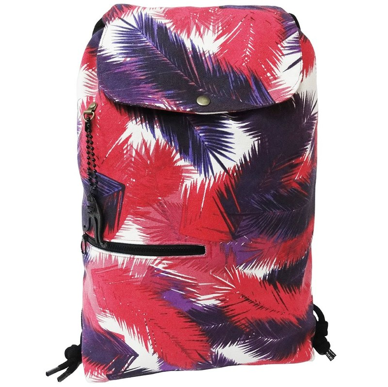 【Is Marvel】Hundred purple leaves red drawstring packet