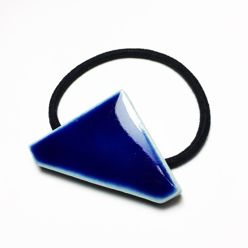 Triangle Tile hair elastic
