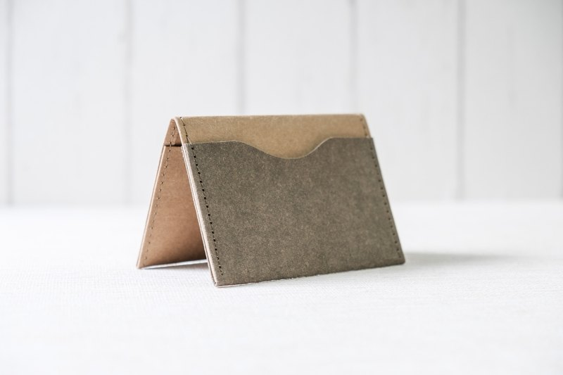 [Paper made possible] Plain simple n natural series simple business card holder