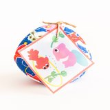 Goldfish (金魚) Handmade Coin Purse. Ocean blue Kingyo. Japanese style calm shell accessories case. Cu..