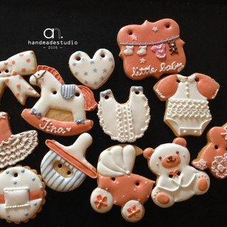 Elegant female baby close saliva biscuit group (12) by anPastry
