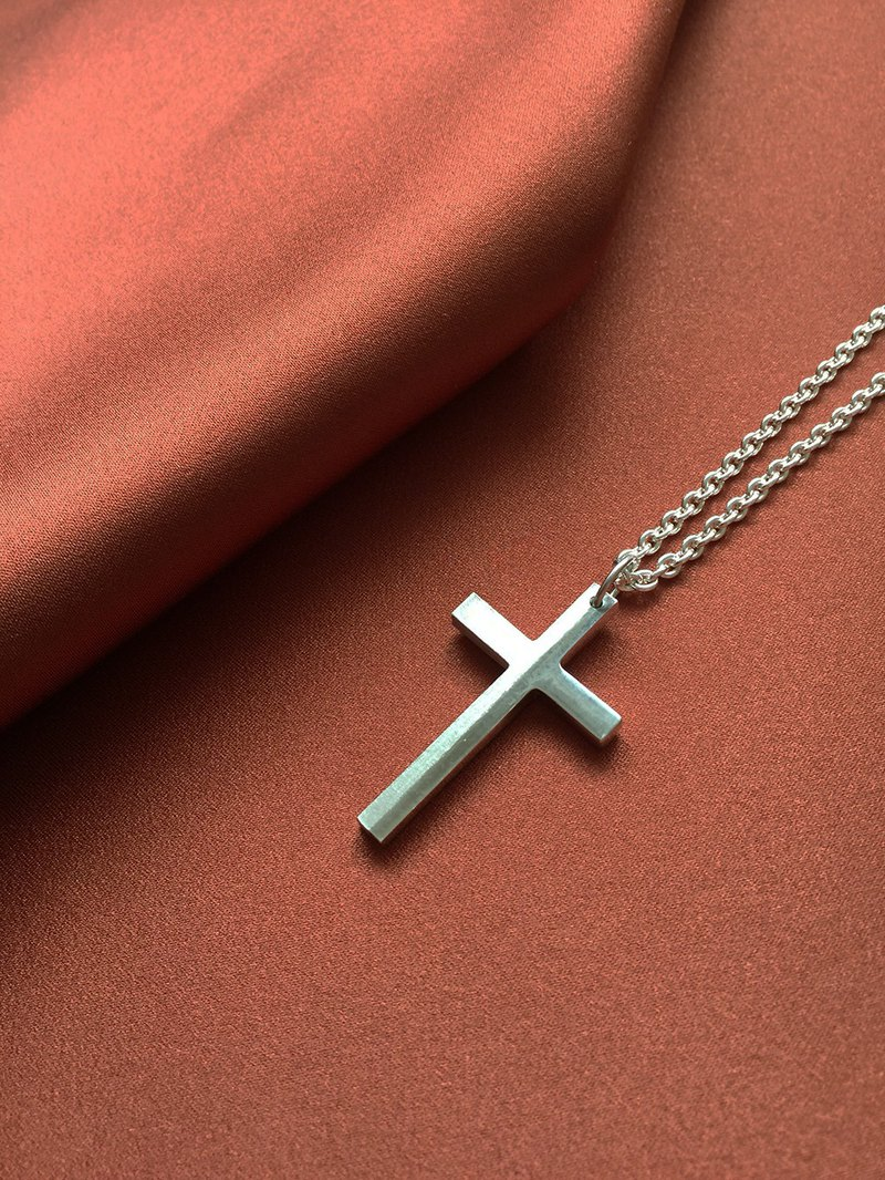 Cross Necklace 925 Sterling Silver