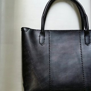 [KakasunShop] leather TOTE Tote -Night