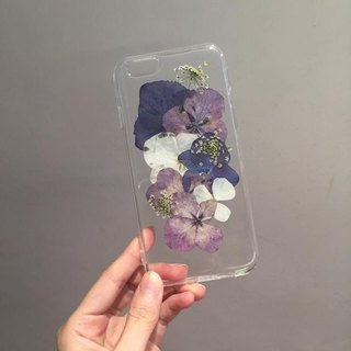 Oone_n_Only Handmade pressed flower phone shell