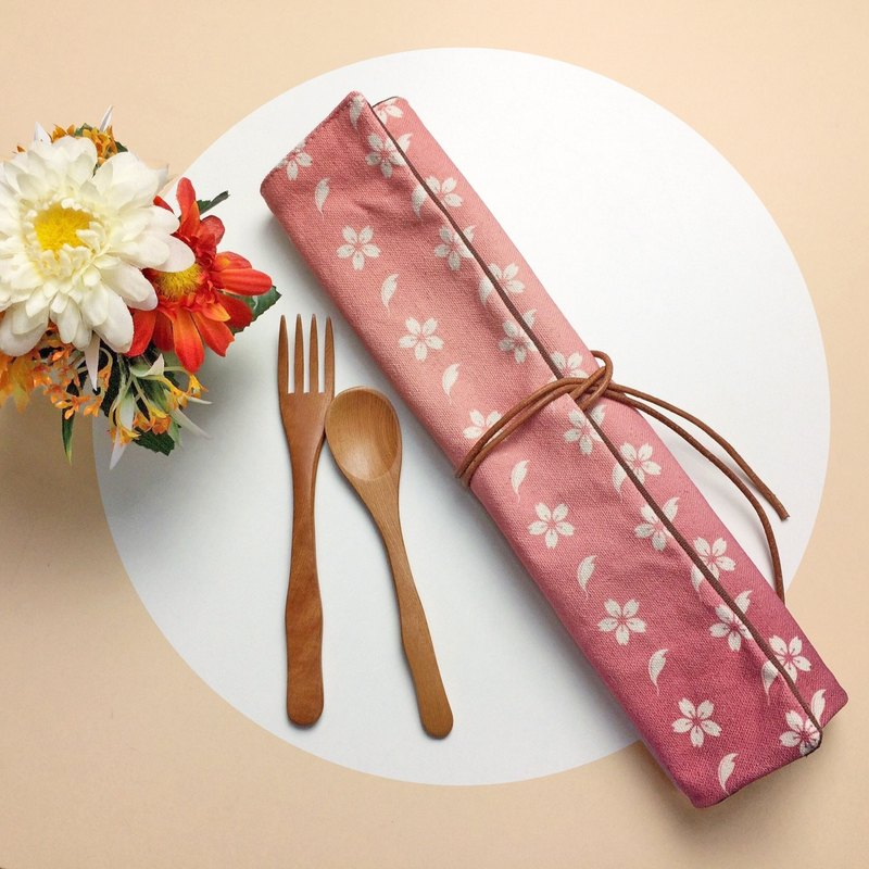 Dishwasher Set Bags Cherry Blossoms Dinnerware