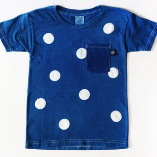 Natural Blue Scared Toddler T-Shirt (Short Sleeve) Series - Little