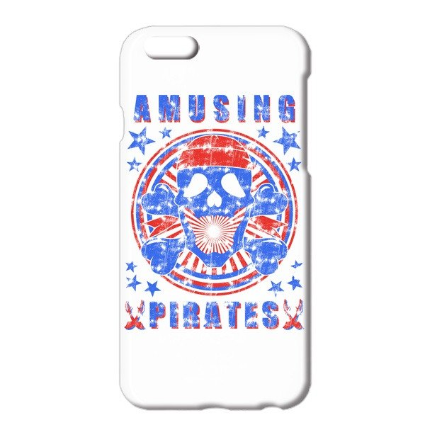 [iPhoneケース] Pirate / white
