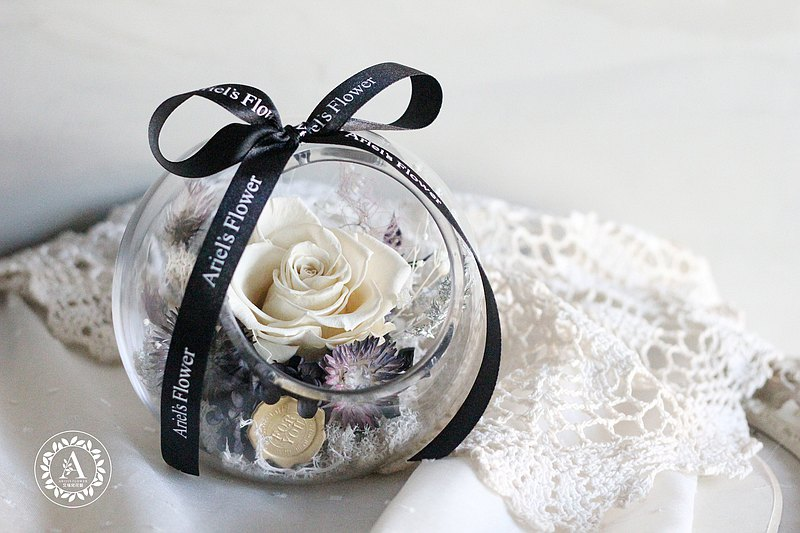 Flower ceremony design [without flower series] colorless round flower cup