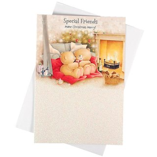 Christmas card full of happiness and cheers [Hallmark-card Christmas series]