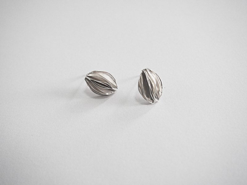 [fruit] 999 silver design series earrings