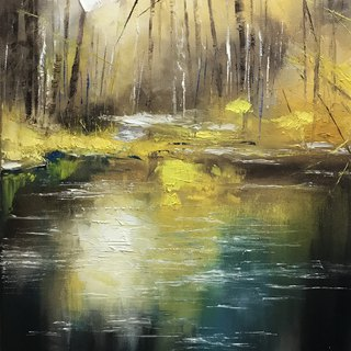 Chen Yingwen oil painting creation film