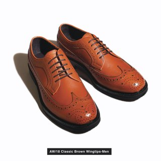 Aw/18 Mens Classic Wingtips