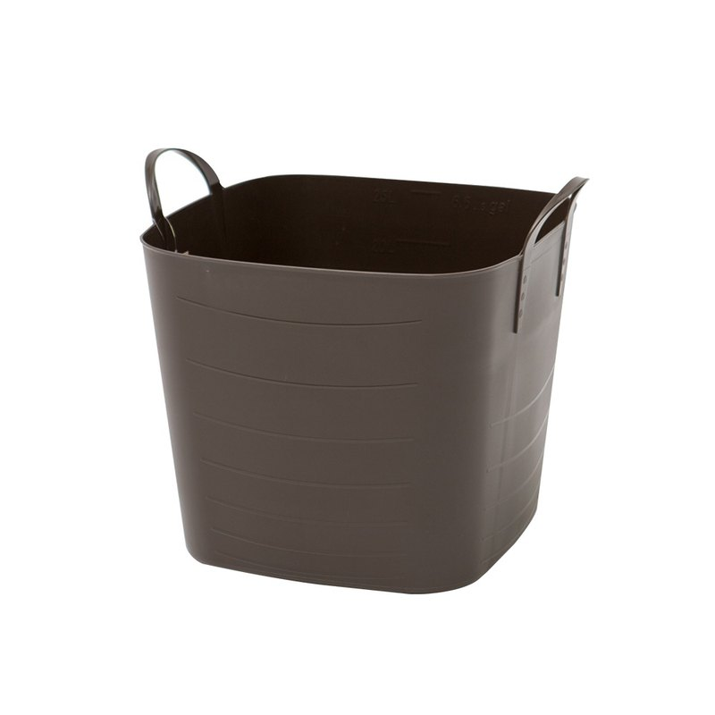Stacksto baquet plain flower basket - coffee