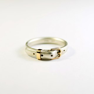 Belt Ring cute SV 3mm