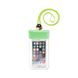 Bone / Waterproof Phone Bag waterproof cell phone pocket - penguin Maru