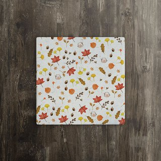 [Autumn Festival] Maple Leaf Red Ceramic Coaster
