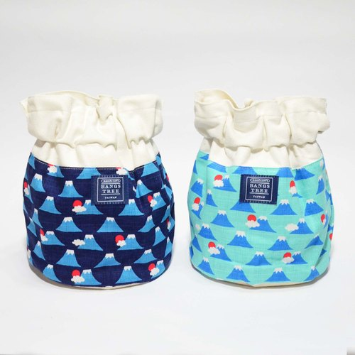 :: :: Bangs tree dorsal bucket bag _ Mount Fuji (the shelf)
